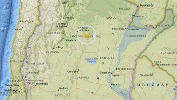 santiago del estero: se sintieron dos sismos de mediana intensidad