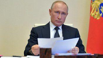 Putin anunció que Rusia tiene la primera vacuna contra el Covid-19