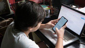 los adolescentes triplicaron el uso de internet y aplicaciones