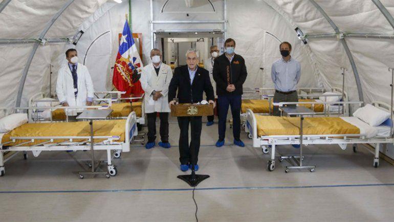 Chile superó los 82 mil casos y el Gobierno extiende la cuarentena