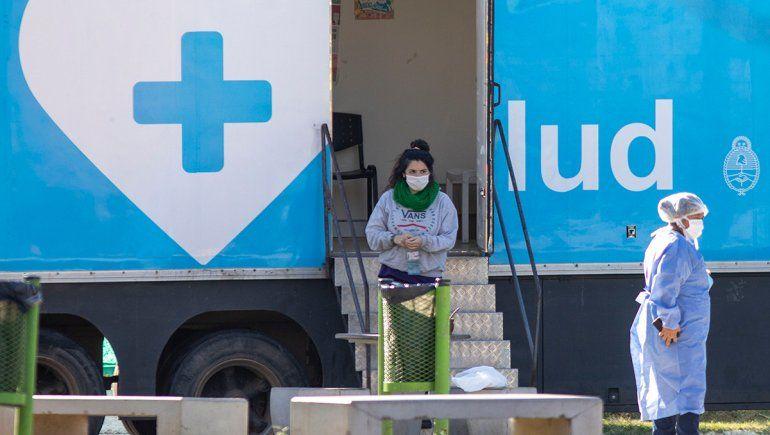 Nuevo récord de contagios en el país: se registraron 769 en 24 horas