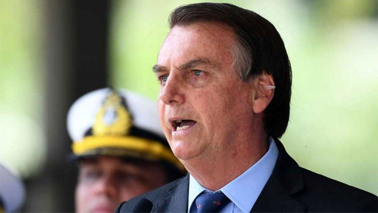 Bolsonaro se comparó con Argentina el día de un nuevo récord de casos