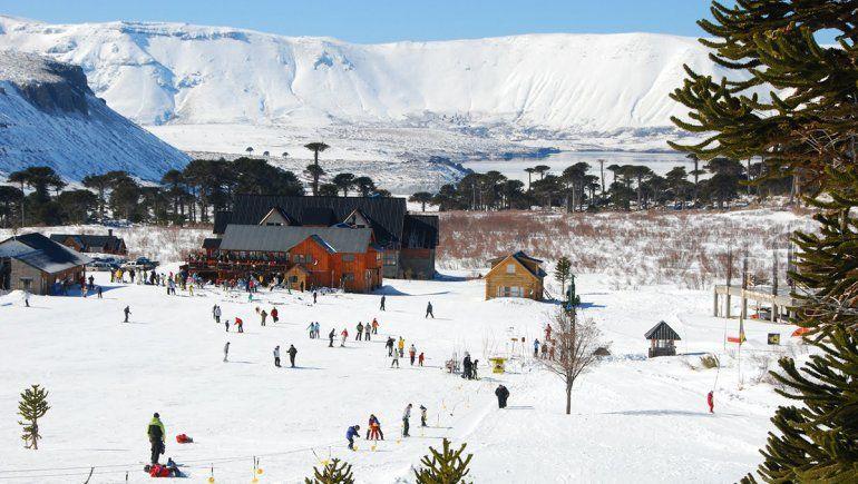 Pista de esquí en Caviahue.