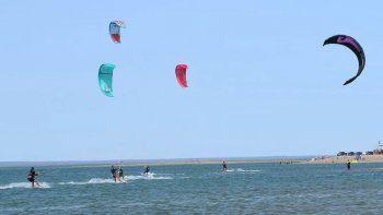 se habilito la practica del kitesurf en neuquen: de que se trata