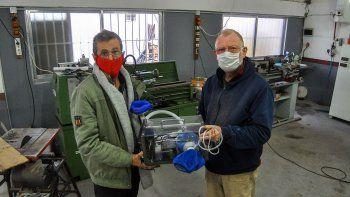 crearon respirador con el motor de un limpiaparabrisas