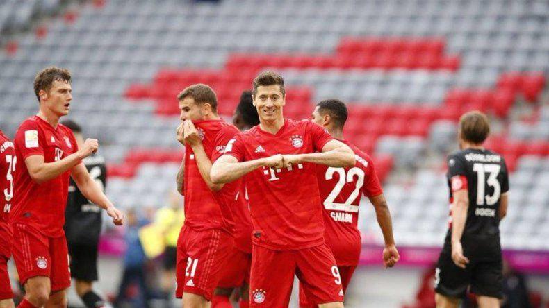 Bayern Munich: ganan, gustan, golean y resignan su sueldo