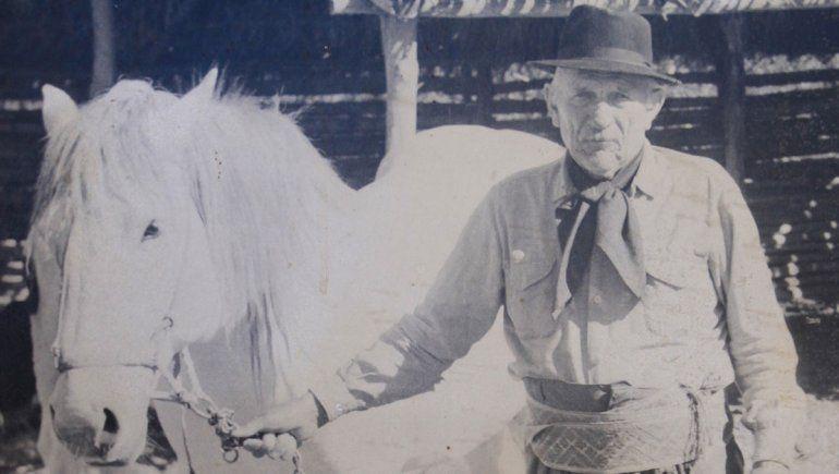 El gaucho andariego que llegó hace un siglo