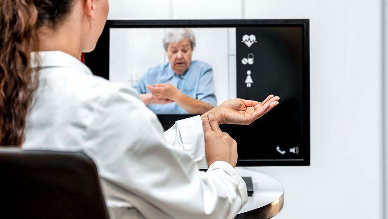 Cada vez más médicos atienden por teleconsulta