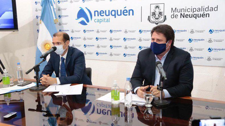 Gutiérrez y Gaido presentaron un plan de obras para Neuquén capital