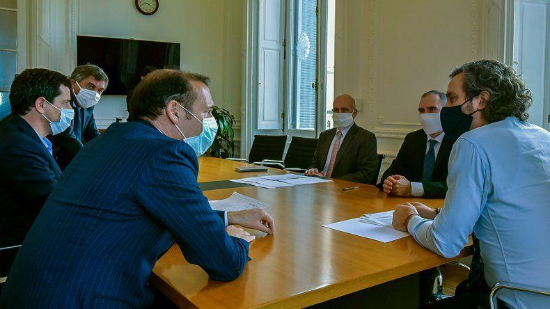 Provincia firmó con Nación un convenio de asistencia financiera por $5 mil millones