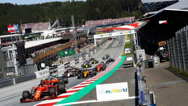 La Fórmula 1 confirmó sus primeras ocho fechas y en dicha lista repetirá los circuitos de Austria e Inglaterra.