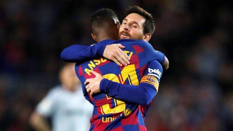 Acuña y Messi se sumaron a la campaña contra el racismo