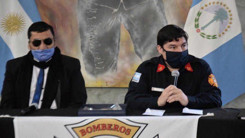 Cutral Co celebró el día de los Bomberos Voluntarios