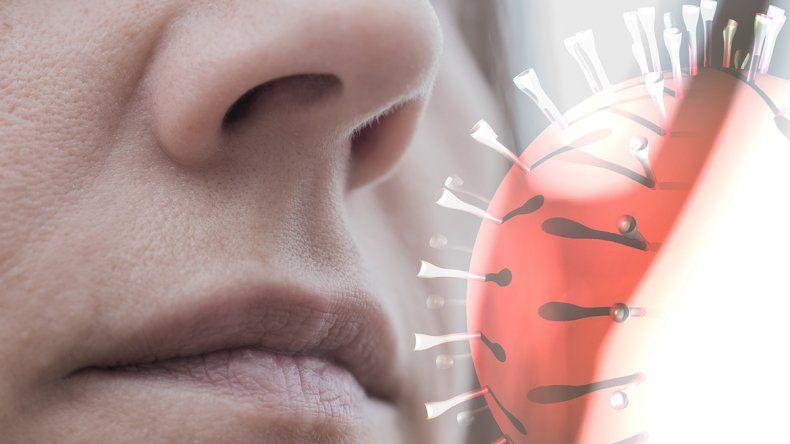 Los curados del virus pueden seguir con pérdida de olfato