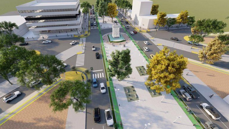 Se viene la remodelación de la Avenida Argentina