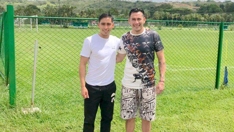 Sambueza: el sueño de jugar con su hermano y cómo es Palermo de DT