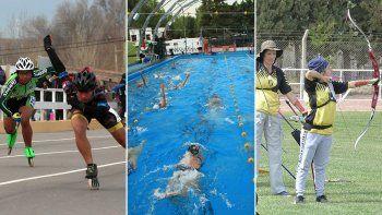 patin, natacion y tiro con arco, 3 deportes mas habilitados
