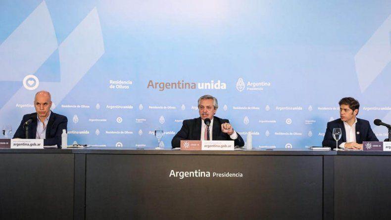 Alberto Fernández anunció el distanciamiento social: la nueva fase en la que entran las zonas sin circulación del virus