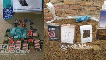 ladrones roban desde pegamento hasta perfumes importados