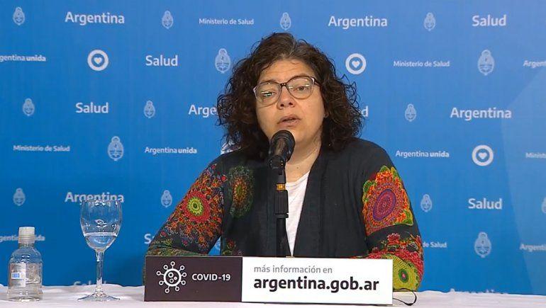 Nación pide intensificar las medidas en Neuquén para cuidar a los infectados