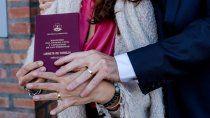 registro civil: hasta mediados de octubre suspenden casamientos