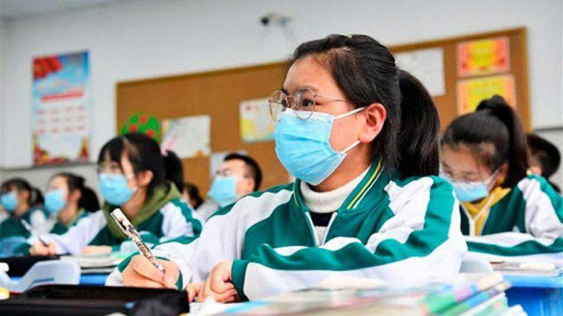 Reapareció el coronavirus en China y chau clases