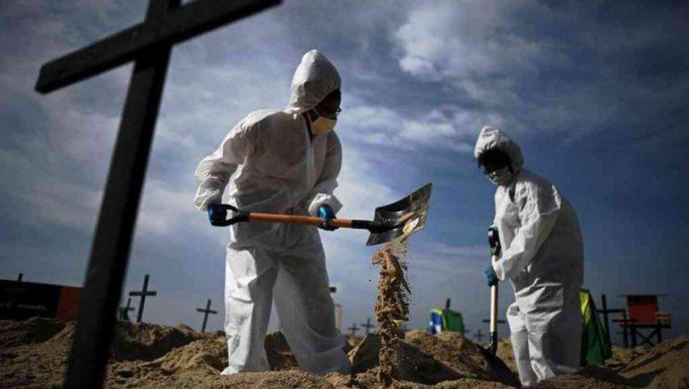Brasil, el segundo país del mundo en muertes por coronavirus