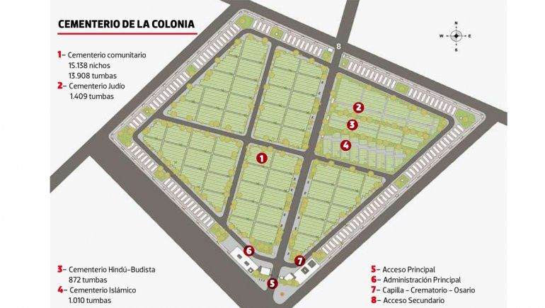 Obra nuevo cementerio en La Meseta
