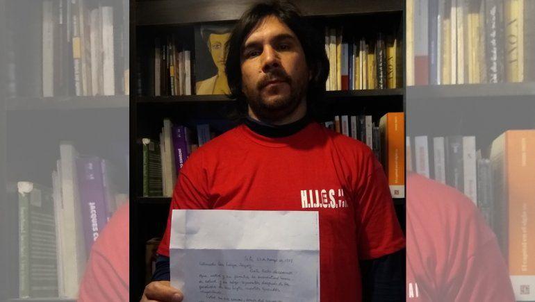 Encuentran carta sobre el destino de un desaparecido