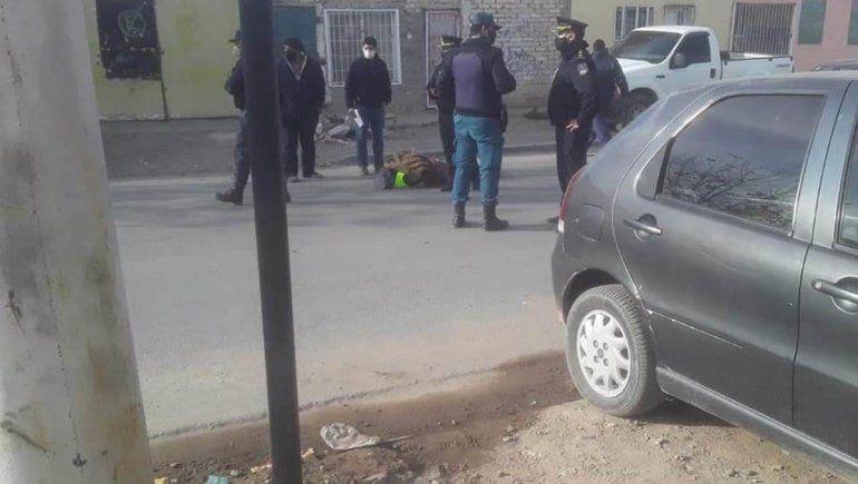 Camionero golpeó a un policía en un control vehicular
