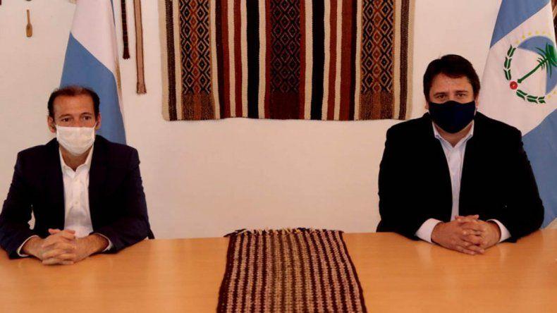 Gutiérrez y Gaido lanzaron 10 medidas para contener el virus
