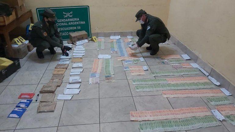 Santiago: los 25 millones de pesos en sobres serían narcos