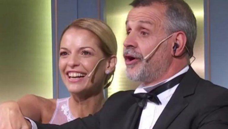 Christian Petersen dijo estar maravillado con Carina Zampini