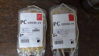 Covid-19: convocan a recuperados para que donen plasma