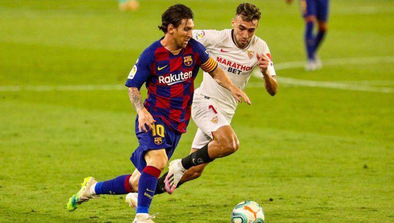 Messi no logró el gol 700 y el Barcelona puede ser alcanzado en la cima