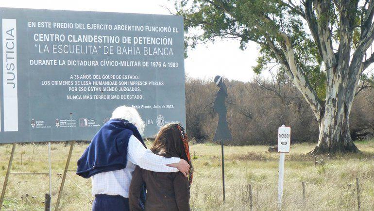 Las víctimas permanecieron en el centro clandestino de detención de Bahía Blanca
