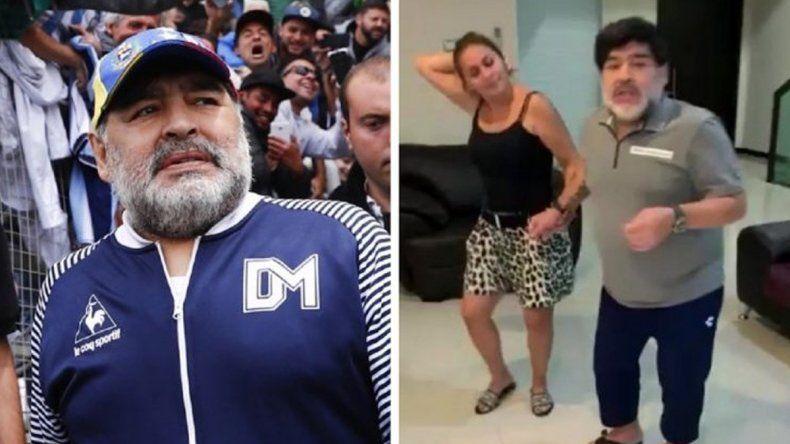 Qué dijo Gianinna sobre el escandaloso video de Maradona
