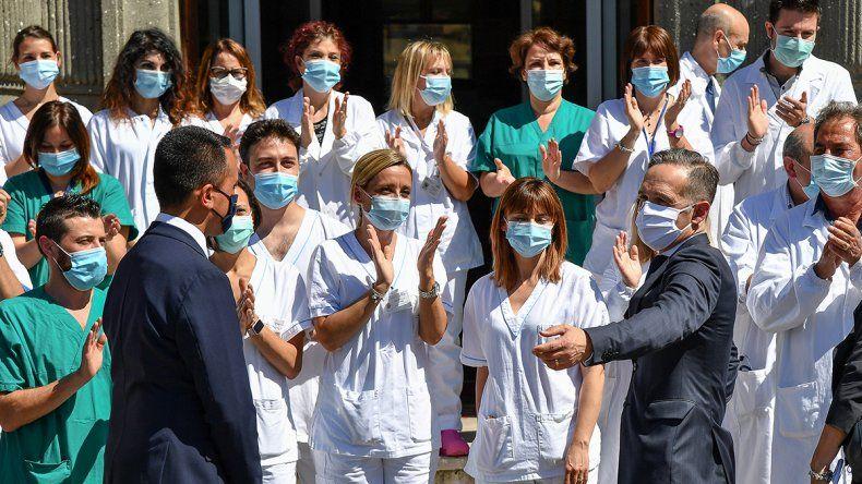 Europa y un ejercito de médicos por temor al rebrote