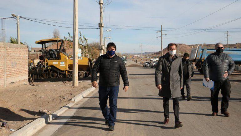 Gaido afirmó que mantendrá la obra pública en la ciudad
