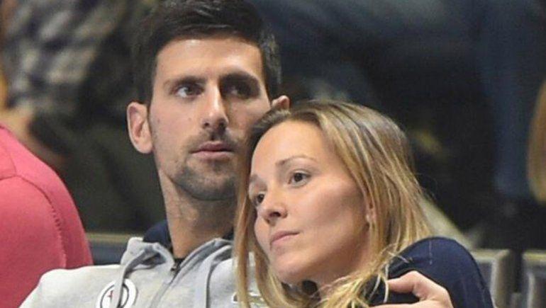 El drama de Djokovic: le llueven críticas y su esposa también dio positivo