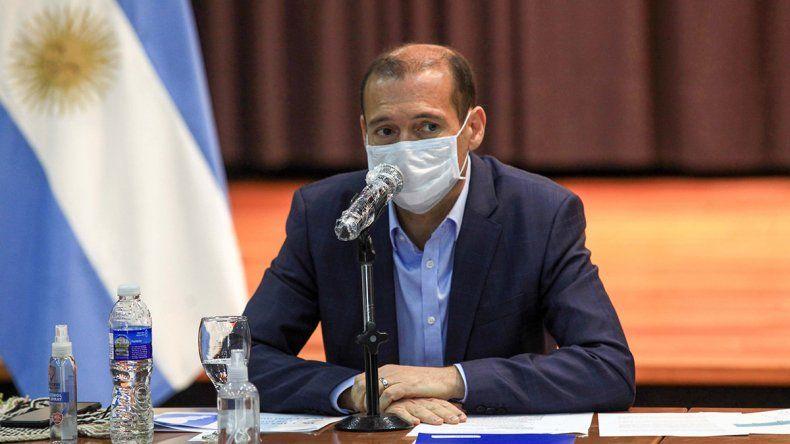 Tras un positivo en su casa, Gutiérrez dio negativo pero hará el aislamiento