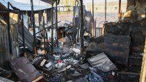 murio un nene de 12 anos en un incendio en valentina norte