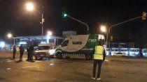choco ambulancia en ruta 22 que llevaba a un herido