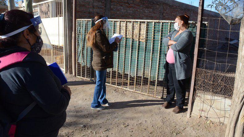 Los 15 hisopados en los barrios dieron negativo