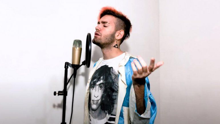 Homenaje a papá: Ramiro Bueno le dedicó un rap a Rodrigo