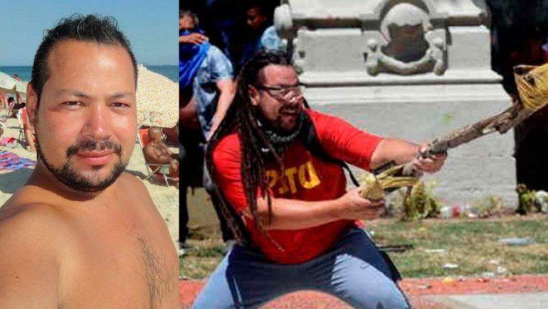 El hombre mortero fue extraditado al país y será indagado