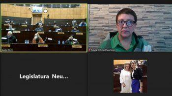 la legislatura aprobo y estreno las sesiones virtuales