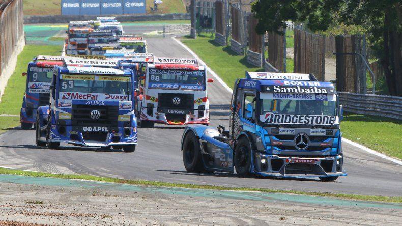 La Copa Truck es la primera categoría de automovilismo de Brasil y de Sudamérica que regresa a las pistas para llevar a cabo una competencia oficial.