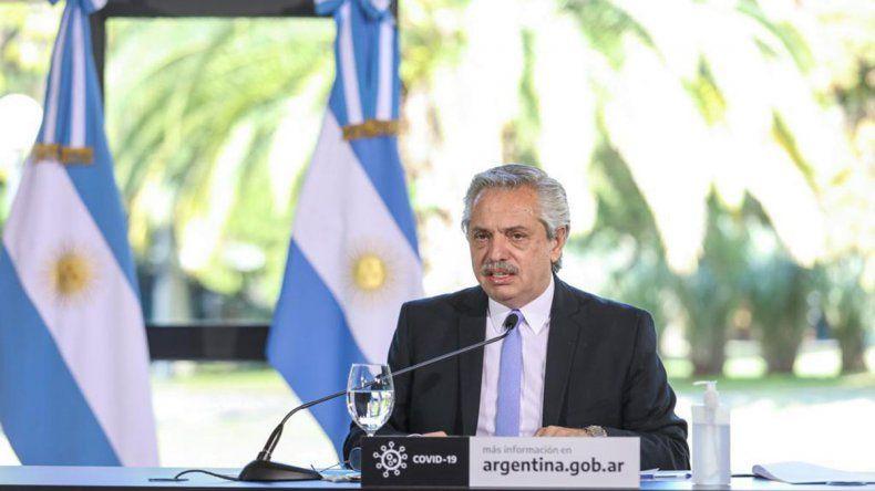 El Presidente Alberto Fernández habló del IFE