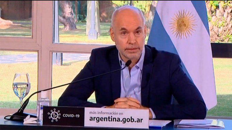 La falla del audio de Rodríguez Larreta estalló en memes